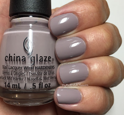 China Glaze; Fall 2016 Rebel Collection - Dope Taupe