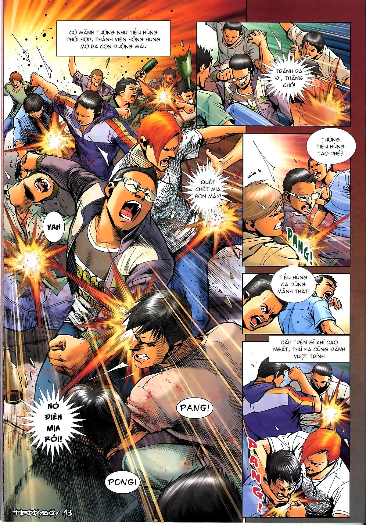 Người Trong Giang Hồ - Chapter 1345: Con của Chó Xám - Pic 12