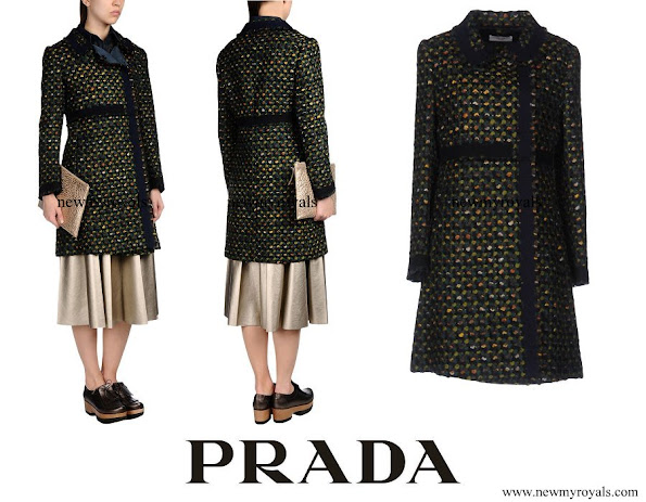 Crown-Princess Mary wore Prada Coat