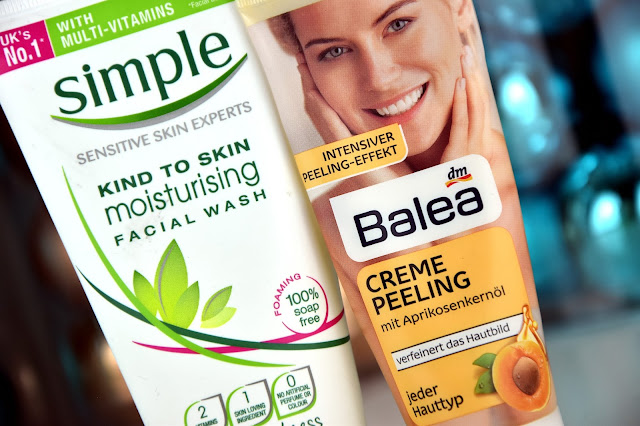 Simple Kind to Skin Facial Wash & Balea Creme Peeling