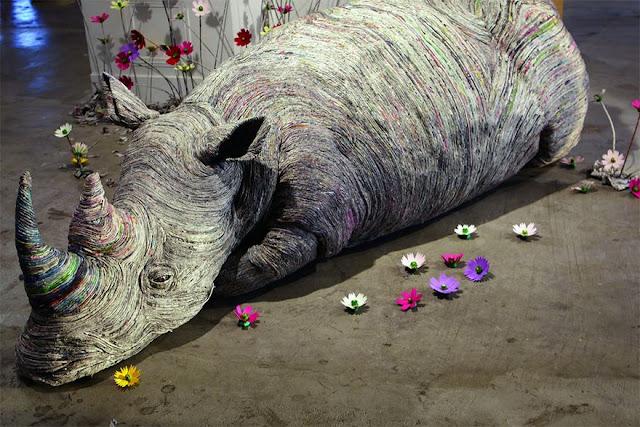 Seniman Jepang Ini Buat Patung-patung Hewan yang Sangat Nyata, Kalian Tidak Akan Menyangka Bahan yang Digunakan