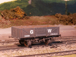 GWR 5 plank wagon kit