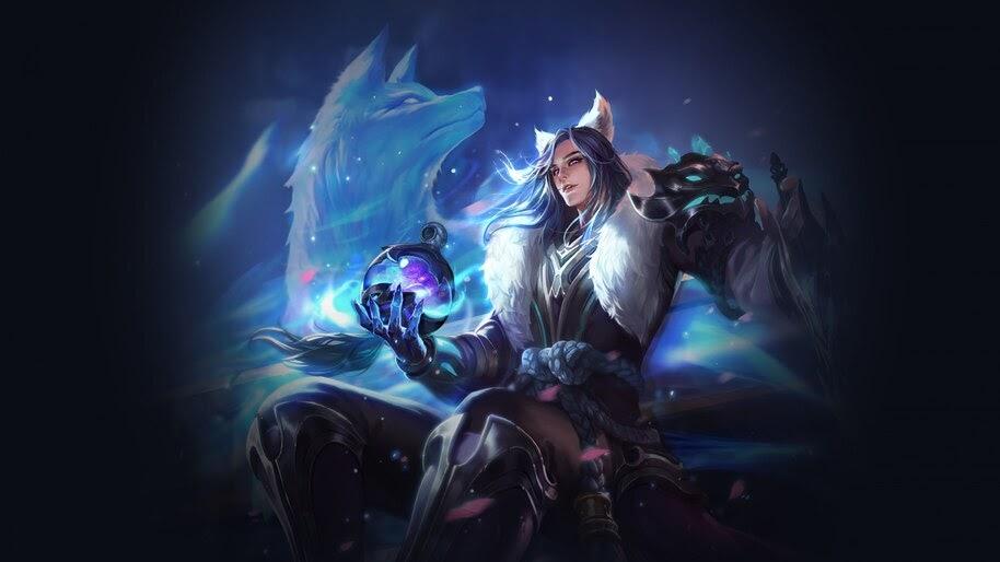 Fantasy, Warrior, Wolf, 4K, #4.602