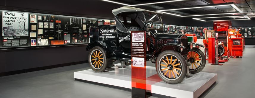 just a car guy: did you know that snap on has a museum? it's in ...