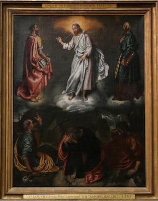 Imagem da transfiguração de Jesus Cristo, pintura, #2