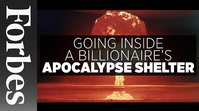 Image Forbes Apocalypse Shelter :The Oppidum : Billionaire Bunker :The Czech Republic