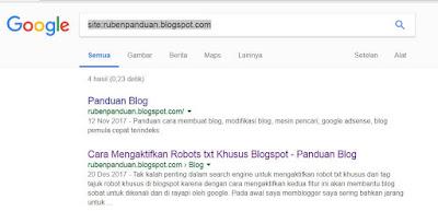 Cara Agar Blog Baru Cepat Terindex Di Google