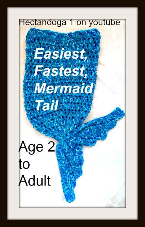 Hectanooga Patterns Free Crochet Pattern Mermaid Tail Mermaid