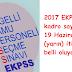 EKPSS kadro sayıları 19 Haziran'da belli oluyor