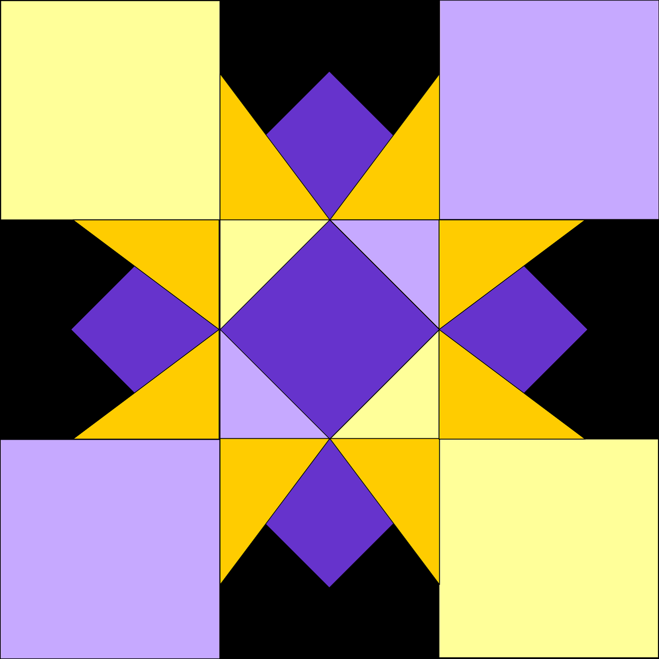 Little bunny quilts starburst quilt along week 3 block 3 and this week we are doing one of the blocks that isnt symmetrical all the way around make sure that the colors from your center paper pieced block match the gamestrikefo Images