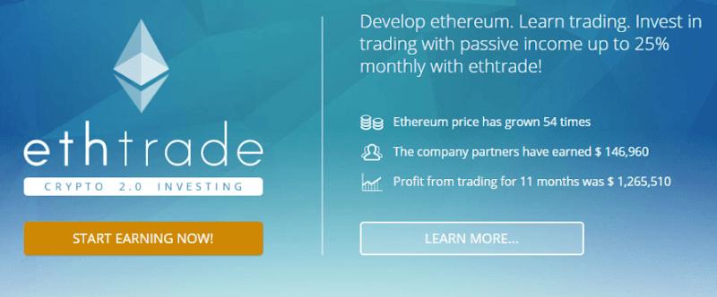 [SCAM] Review EthTrade-Một site kinh doanh BTC, ETH lãi ròng 21.5%/tháng, lifetime