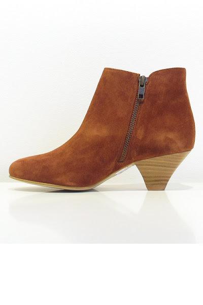 boots Sessun daim tabac