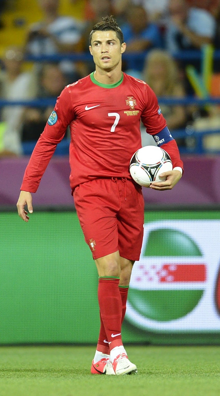 Football: Cristiano Ronaldo