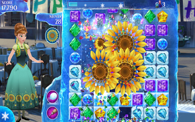 Frozen Free Fall V3.4.0 Mod Apk-screenshot-2