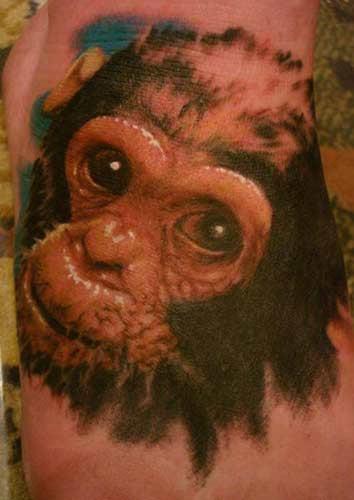 Animal Tattoo Ideas Monkey Tattoos