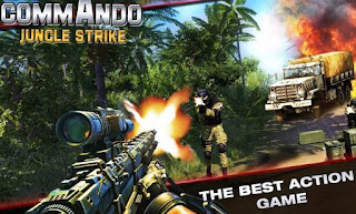 Permainan Tembakan Tembakan Android Jungle Counter Strike Commando