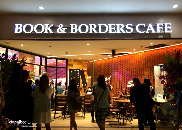 Book and Borders Cafe Eastwood City