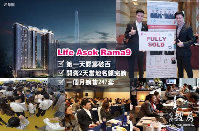 泰國上市開發商AP銷售實蹟,台灣搜房
