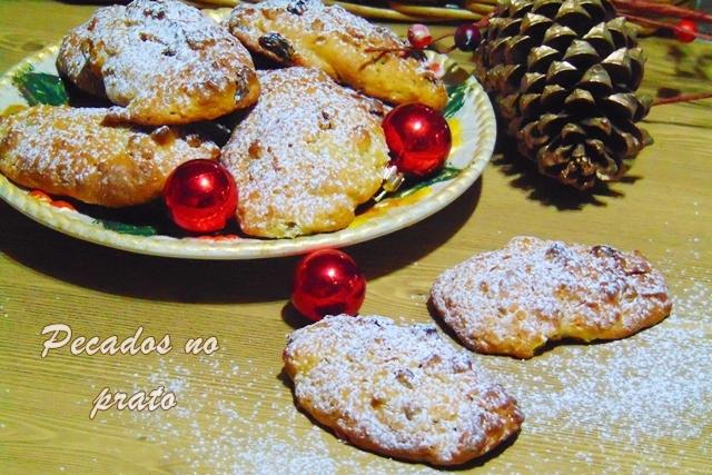 Broas de batata doce, Natal