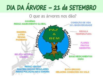 Alfabetização Divertida Dia Da árvore 21 De Setembro