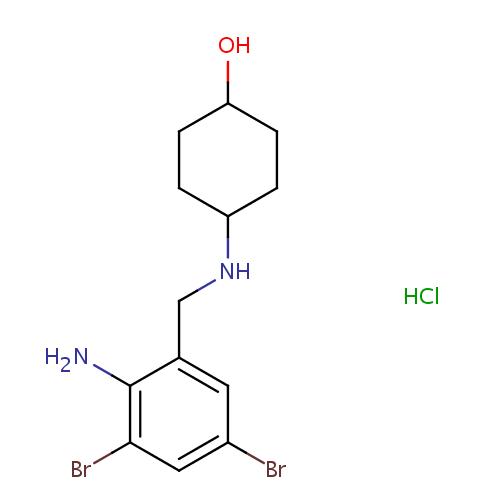 struktur ambroxol