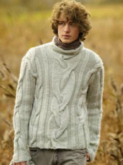 molto carino 43e10 ce527 live.love.knitting: Men's sweater - Maglia da uomo a trecce