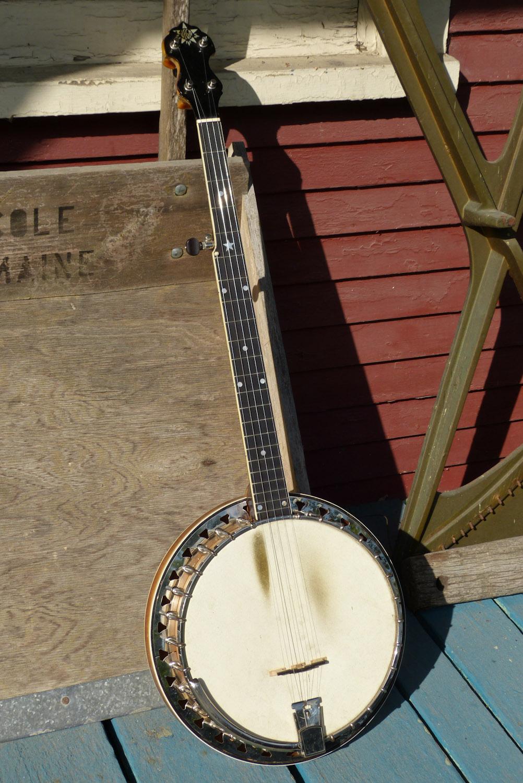 1930 Vega Regent 5-String Resonator Banjo