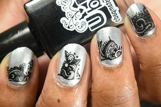 Silver & Black - Stamping Saturdays #2