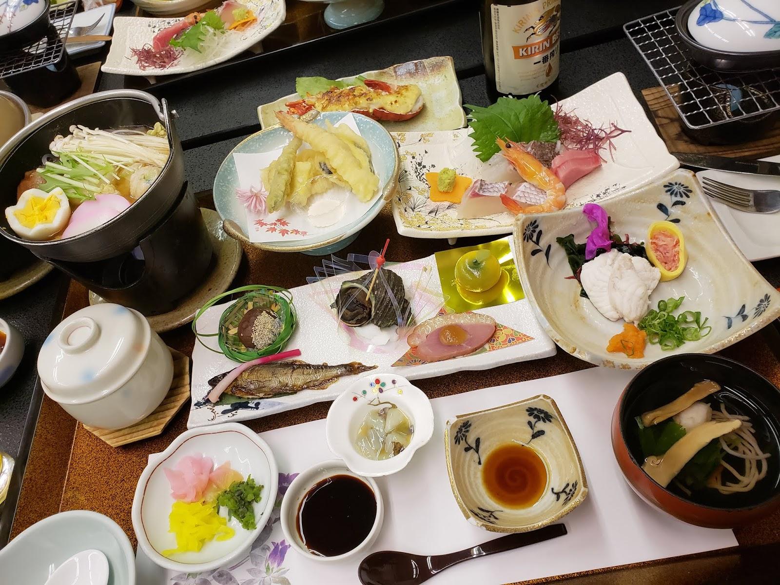 雲仙いわき旅館 夕食