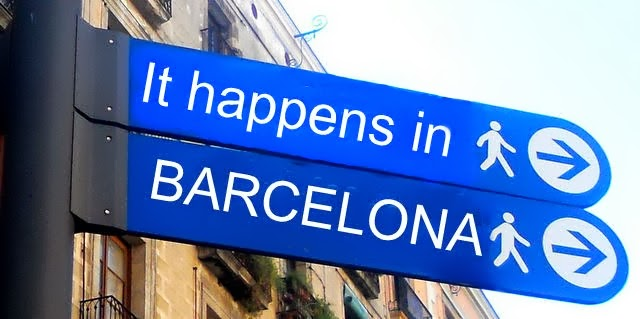 It happens in Barcelona