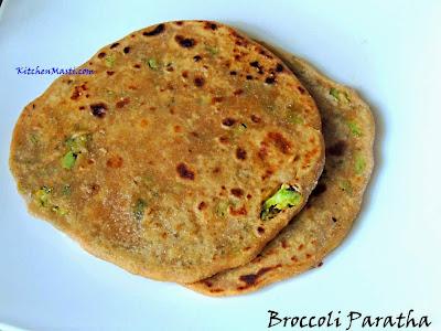 broccoli+paratha