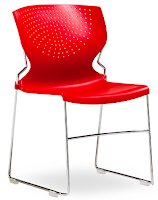 Stackable Plastic Side Chair