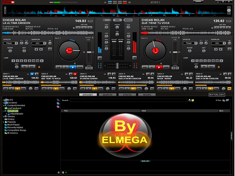 Download the latest version of Virtual Dj free in English on CCM