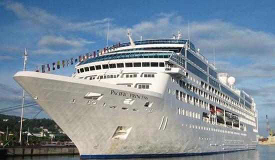 Princess Cruises 50th Anniversary - Pacific Princess 2015