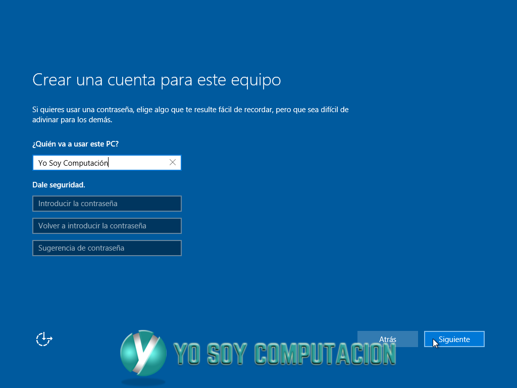 TUTORIAL DE INSTALACION DE WINDOWS 10