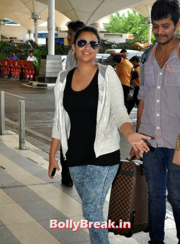 , Parineeti Chopra Airport fashion Pics, Parineeti Chopra Without Makeup