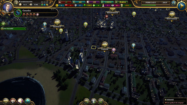 Screenshot from Urban Empire