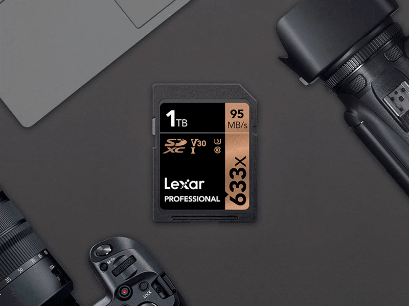 Lexar announces the world's first available for purchase 1TB UHS-I SD card!
