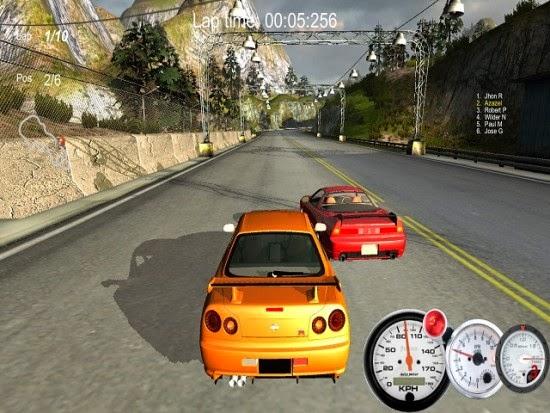 تحميل لعبة سيارات سباق الشوارع