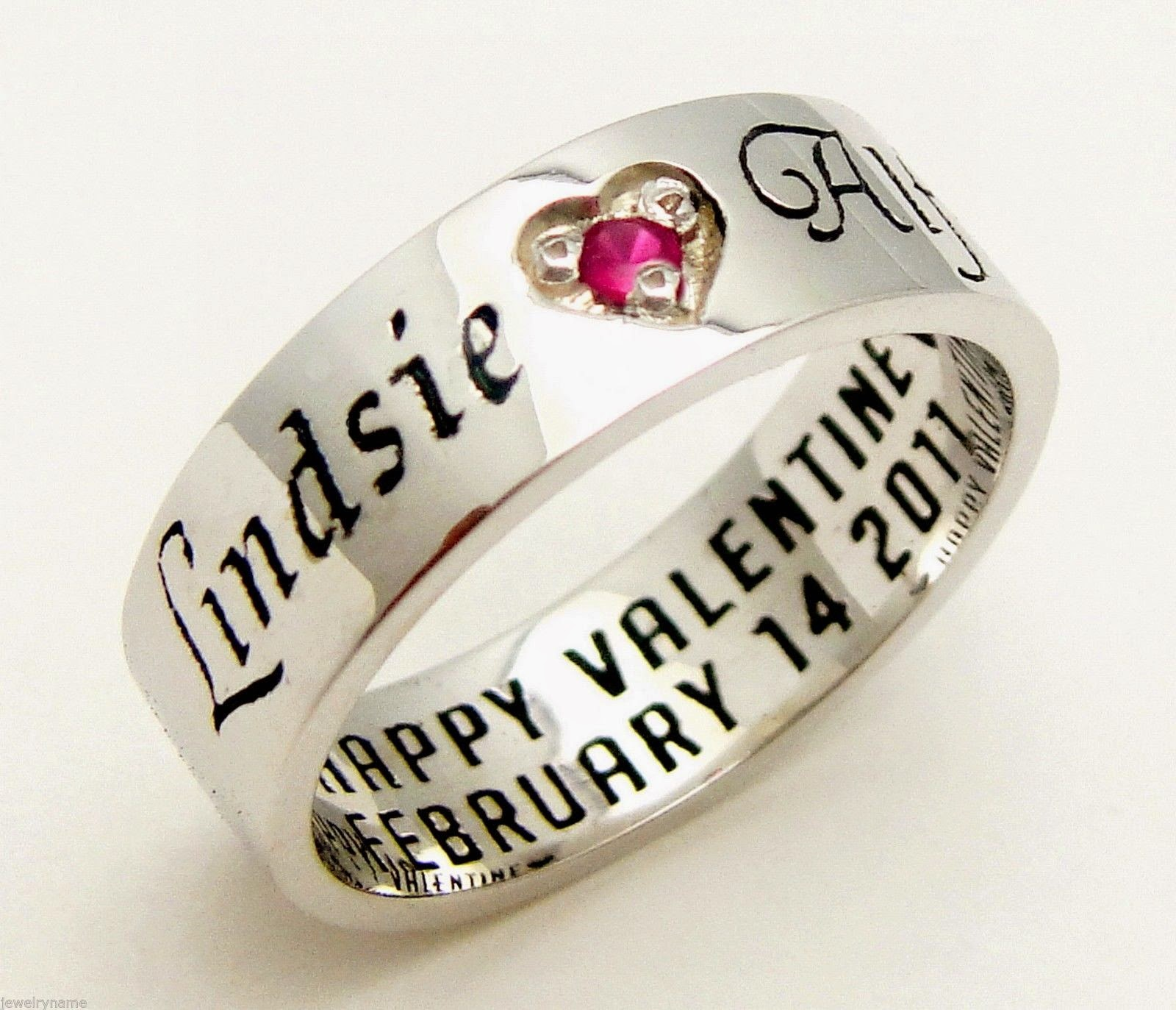 Affordable Personalized Promise Rings for Her