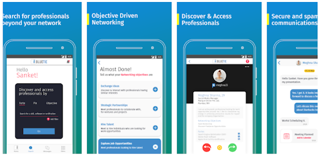 BlueTie - Professional & Business Networking Mobile - Youth Apps