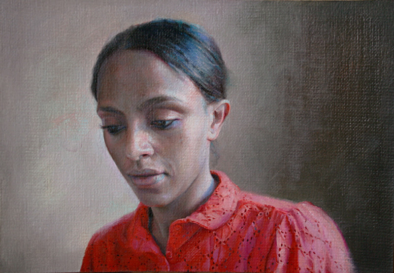 Portrait Paintings by Maryam Foroozanfar from London.