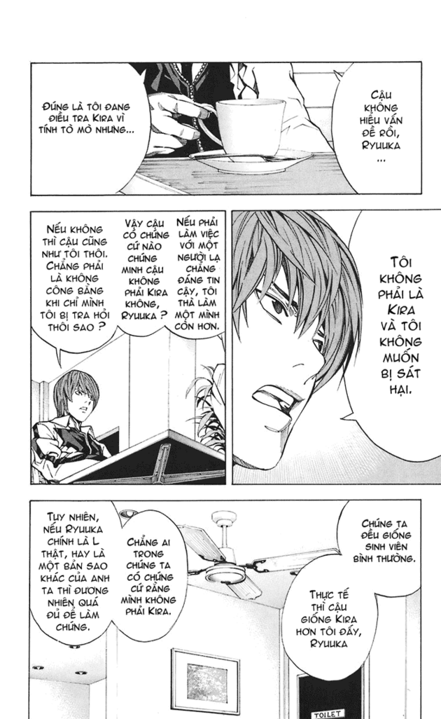 Death Note chapter 021 trang 21