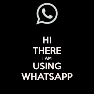 using whatsapp