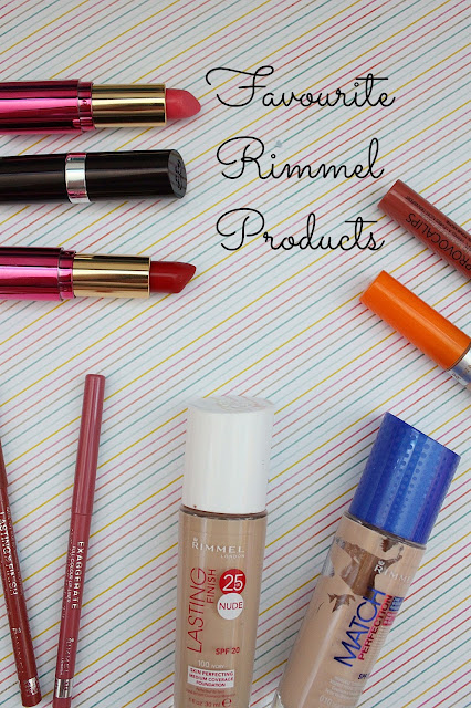 Favourite Rimmel Products