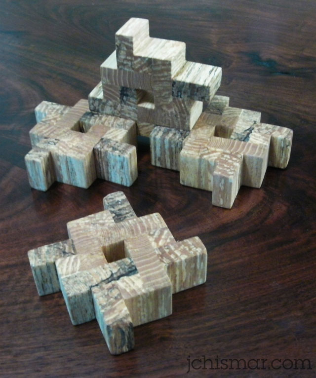 wooden hashtag coasters