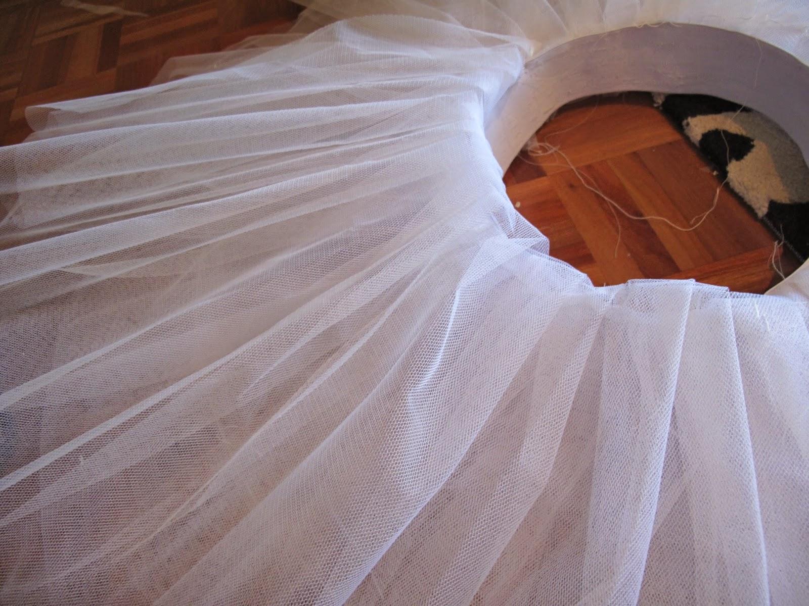 180b5a58d Tutorial para hacer un tutú de ballet de plato con aro. | Si ...