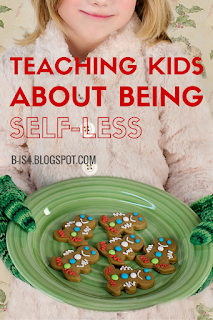 Teaching Kids About Being Selfless