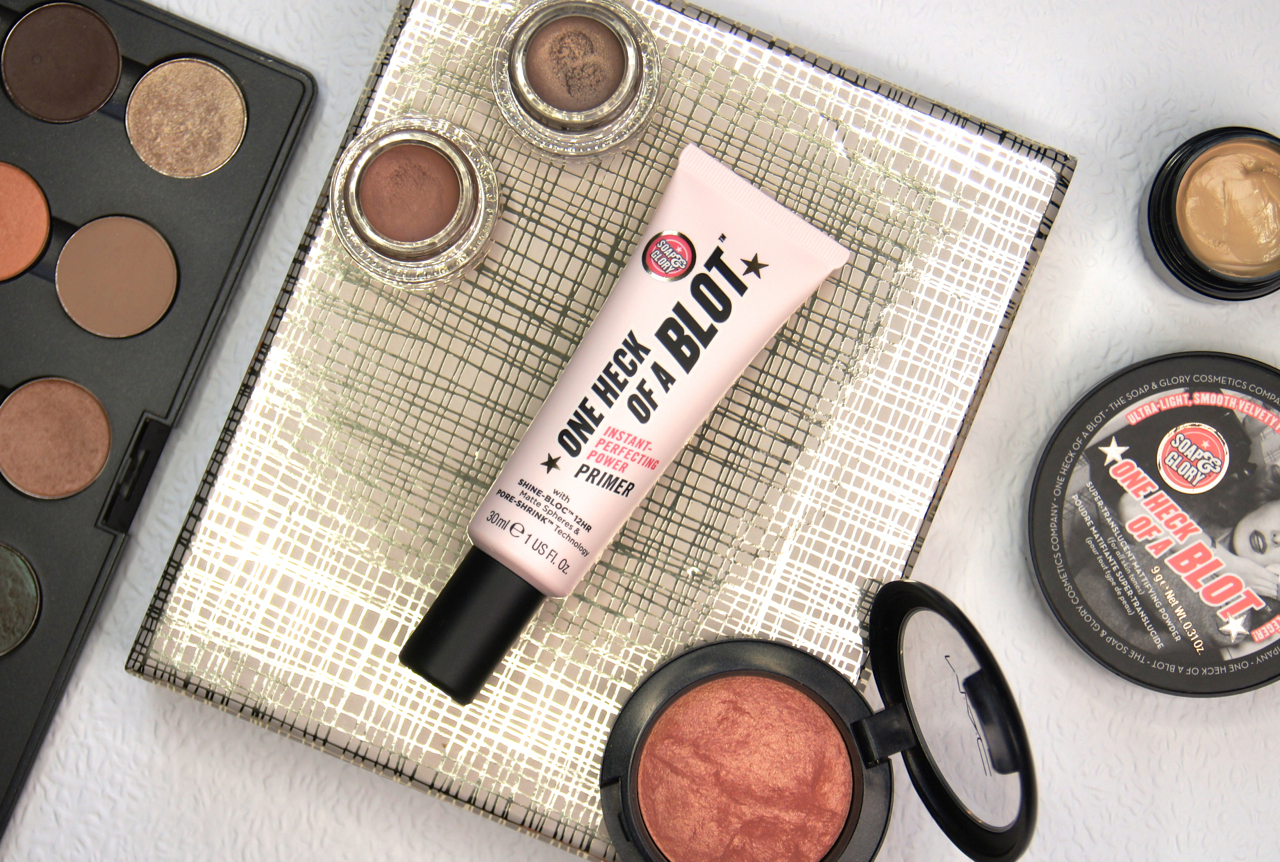 soap & glory one heck of a blot primer review