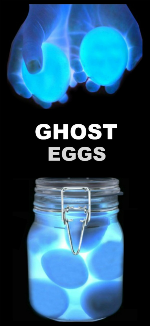 FUN KID PROJECT: MAKE GHOST EGGS (spooky science for kids) #ghosteggs #scienceexperimentskids #eggexperimentsforkids #eggexperiments #growingajeweledrose